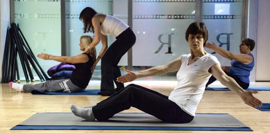 Pilates Exercise correction
