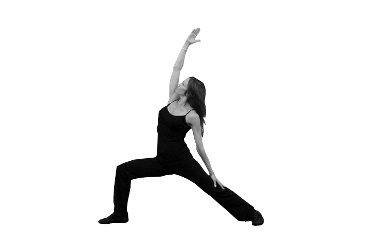 Kerry Yazdanfar in Pilates fitness pose